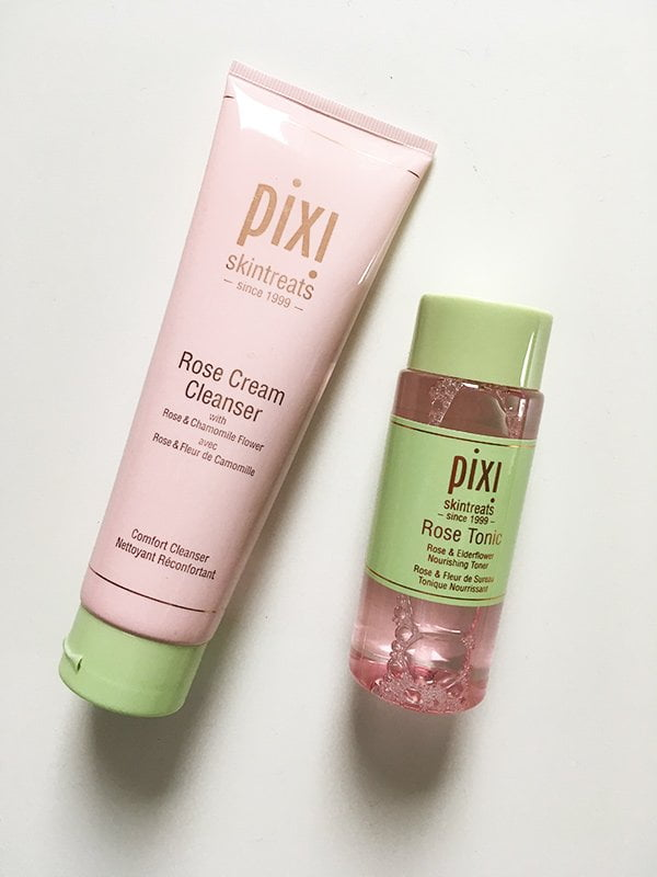 Pixi by Petra Rose Cleanser und Rose Tonic, neu bei Marionnaud Schweiz (Spring 2018), Image by Hey Pretty