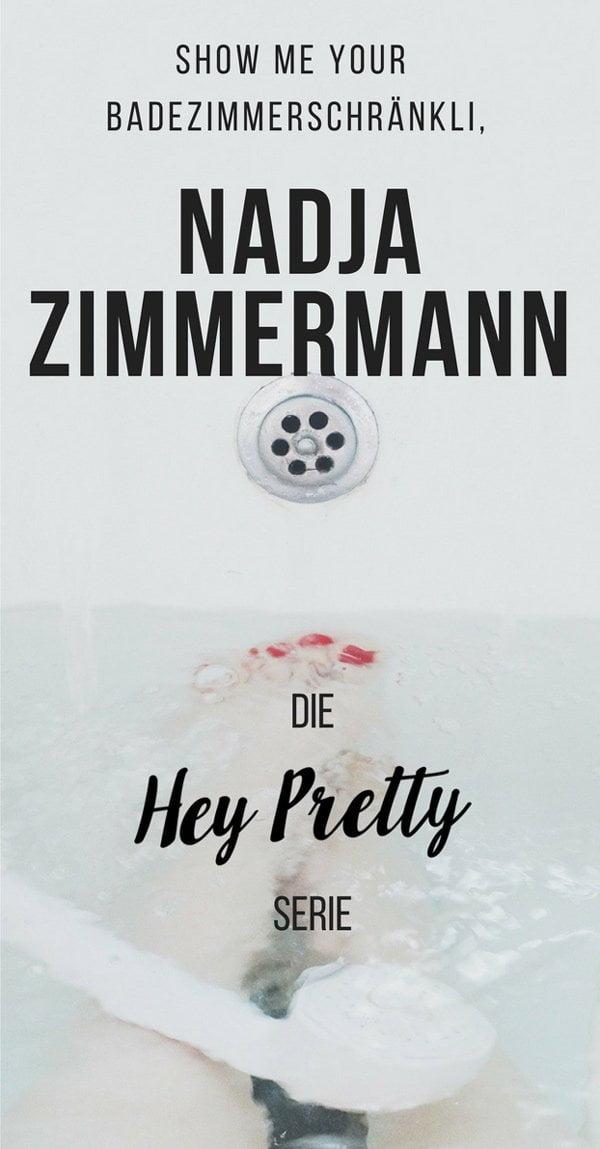 Show Me Your Badezimmerschränkli auf Hey Pretty: Nadja Zimmermann, Bloggerin auf www.loumalou.ch