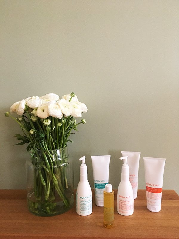 Bjorn Axen Organic Bodycare Range: Launch Event 2018 and Product Review on Hey Pretty