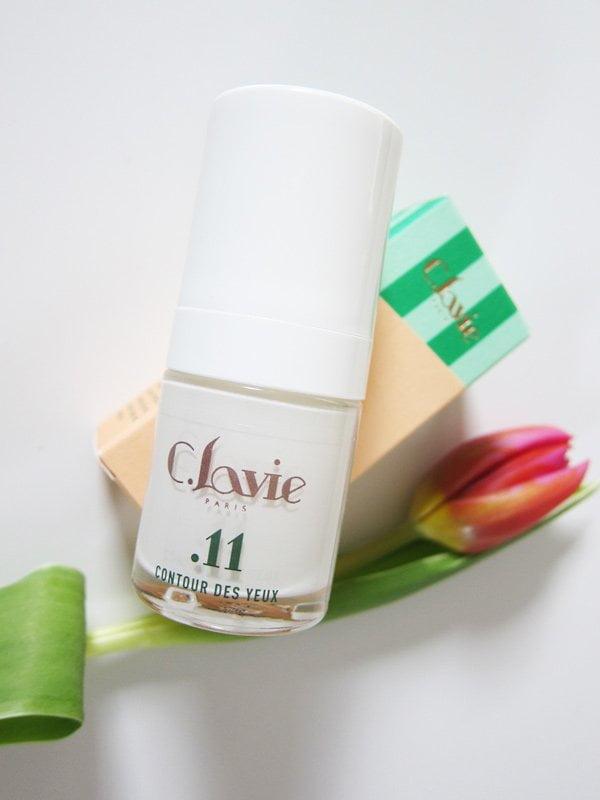 C. Lavie Contour des Yeux: Augenpflege-Gel aus 100% natürlichen Inhaltsstoffen (Erfahrungsbericht auf Hey Pretty), erhältlich bei Biomazing