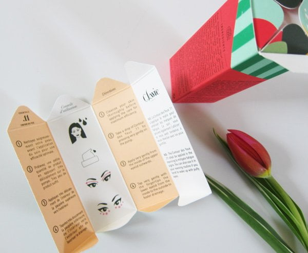 C. Lavie Naturkosmetik aus Paris: Verpackungs-Detail (Image by Hey Pretty)