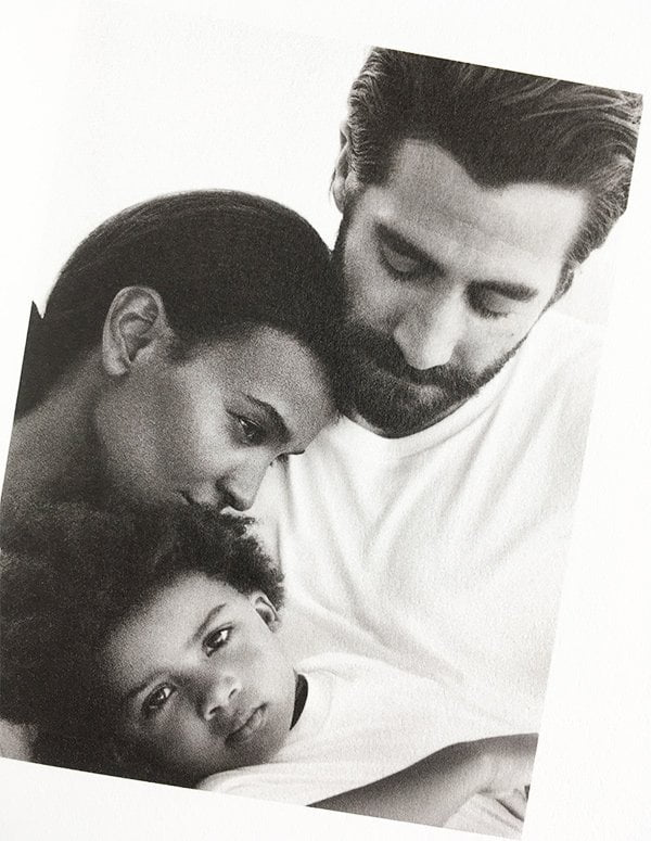 Calvin Klein Eternity (PR Visual Press Kit zum Launch von Eternity Air), featuring Jake Gyllenhaal und Liya Kibide