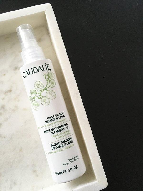 Caudalie reinigendes Pflegeöl (Erfahrungsbericht auf Hey Pretty Beauty Blog)