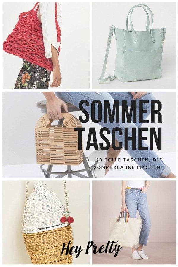 20 schöne Sommertaschen 2018: Der Hey Pretty Fashion Flash