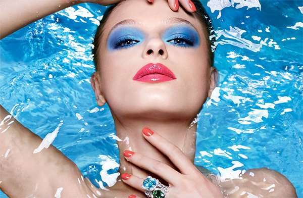 Dior Summer Look 2018: Cool Wave (Model Image), Review auf Hey Pretty
