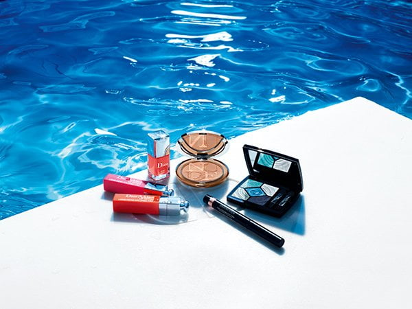 Dior Summer Make-Up Look 2018: Cool Wave (PR Image)