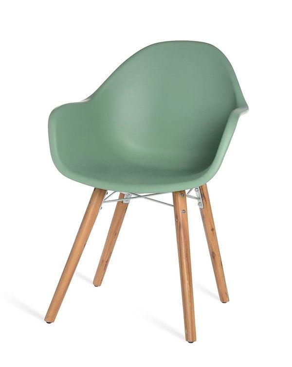 Ab in den Garten: Outdoor-Stuhl mit Akazienholz-Beinen von Depot Online (Hey Pretty Deko Flash)