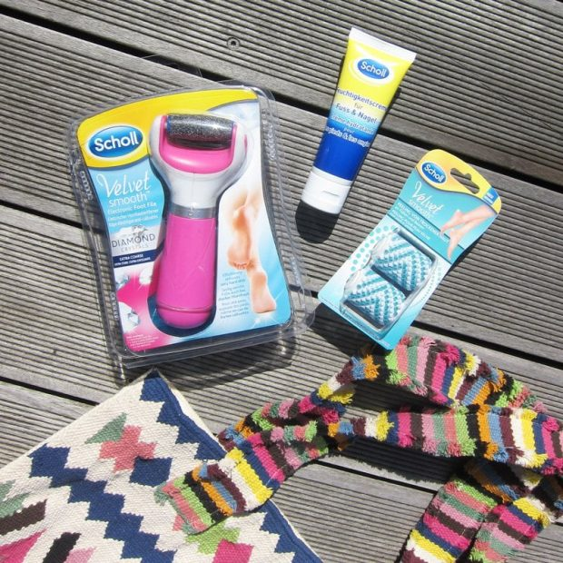 Scholl Velvet Smooth Express Pedi: Review und Verlosung auf Hey Pretty Beauty Blog (Sponsored Content)
