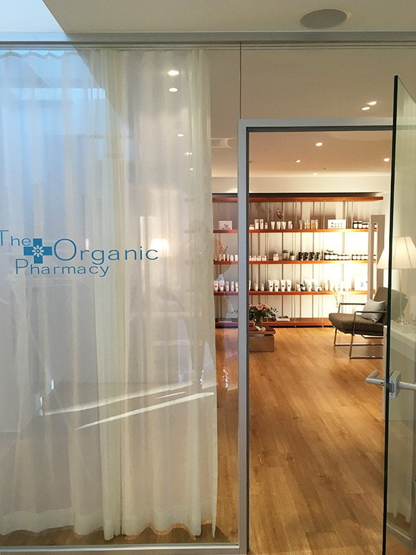 Review The Organic Pharmacy Beauty Spa Zürich (Image Credit: Hey Pretty Beauty Blog)