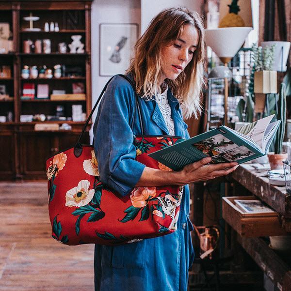Sommertaschen 2018: Wouf Jardin Tote Bag (Hey Pretty Fashion Flash), erhältlich bei WeLoveYouLove