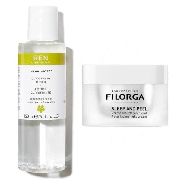 Wirkstoffe in der Hautpflege: AHA – Glykolsäure (REN Skincare Clarimatte Tonic und Filorga Sleep and Peel) –Hey Pretty Beauty ABC