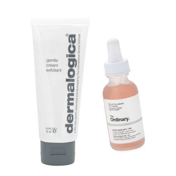 Wirkstoffe in der Hautpflege: Milchsäure – Lactic Acid (Dermalogica Gentle Cream Exfoliant und The Ordinary Lactic Acid 10%) – Hey Pretty Beauty ABC