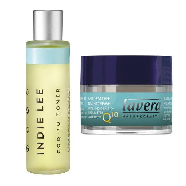 Wirkstoffe in der Hautpflege: Q10 (Indie Lee Q10 Toner und Lavera Basis Sensitiv Q10 Nachtcreme) –Hey Pretty Beauty ABC