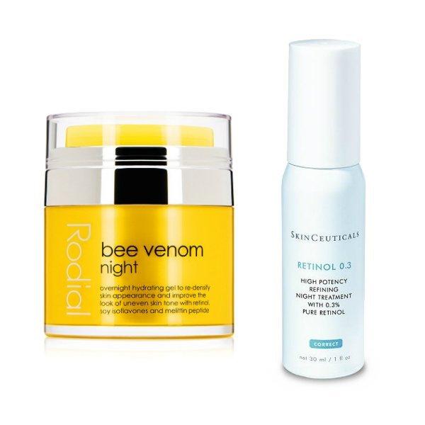 Wirkstoffe in der Hautpflege: Retinol (Rodial Bee Venom Creme und Skinceuticals Retinol 0.3) –Hey Pretty Beauty ABC