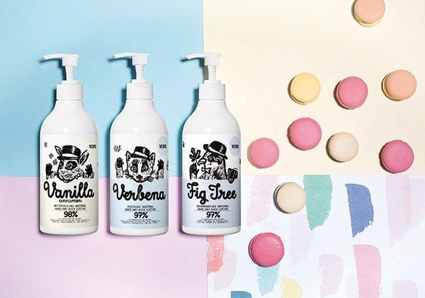 YOPE natürliche Hautpflege und Seifen (erhältlich bei We Love You Love in der Schweiz), PR Visual