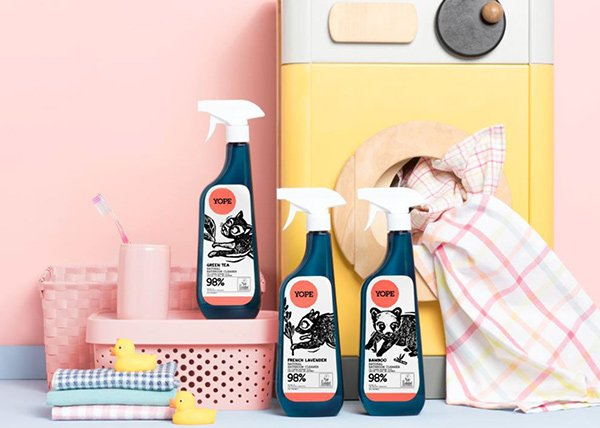 YOPE Reinigungsprodukte: PR Image (Review auf Hey Pretty Beauty Blog)