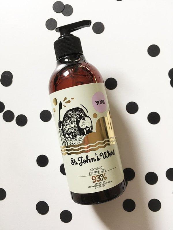 YOPE St. John's Wort Natural Shower Gel (Hey Pretty Review), erhältlich in der Schweiz bei Weloveyoulove
