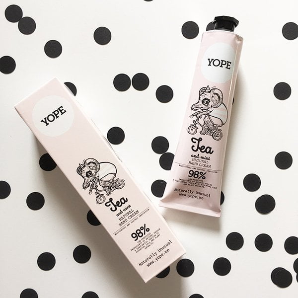 YOPE Tea & Mint Natural Hand Cream (Hey Pretty Beauty Blog Review)