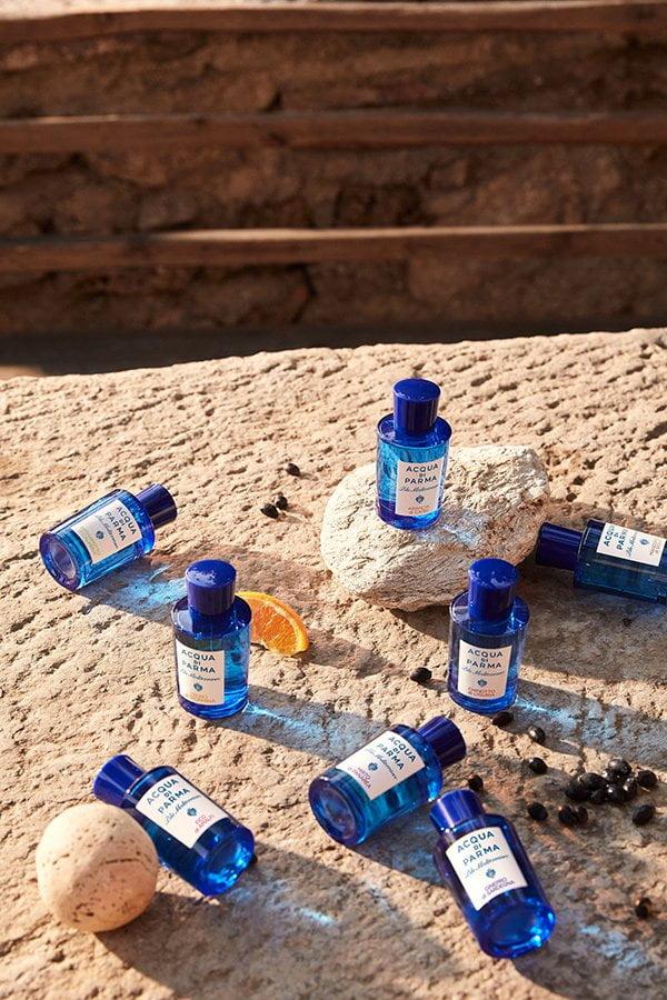 Acqua di Parma Blu Mediterraneo Range (PR Image), Review des neuen Duftes «Chinotto di Liguria» auf Hey Pretty