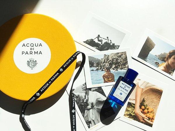 Blu Mediterraneo Neuheit 2018: Acqua di Parma Chinotto di Liguria (Image by Hey Pretty Beauty Blog)