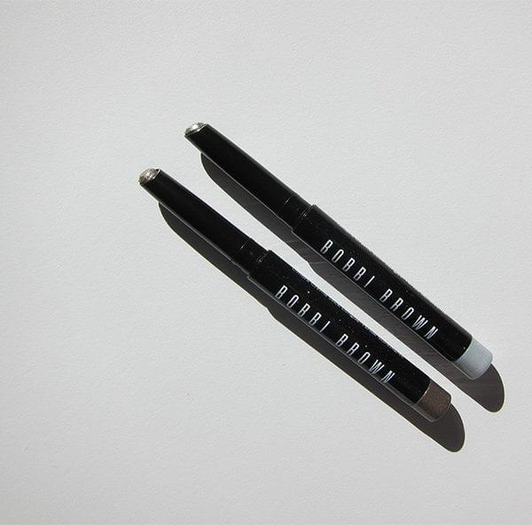 Bobbi Brown Long-Wear Sparkle Stick in Moonstone und Prosecco (Review auf Hey Pretty)