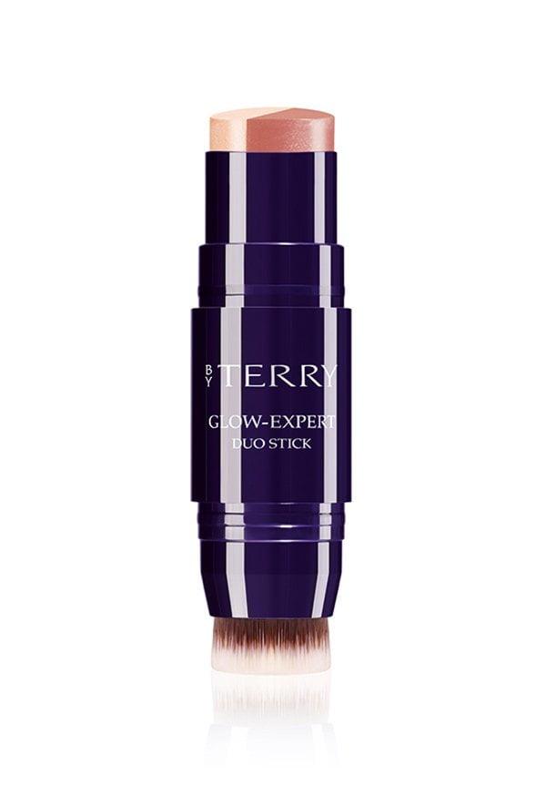 Diese 6 Make-Up-Produkte solltest du besitzen: Highlighter/Bronzer (By Terry Glow Expert Duo Stick in Peachy Petal), Hey Pretty Beauty Blog
