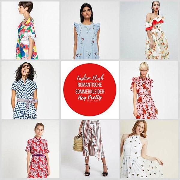 Hey Pretty Fashion Flash: Romantische Sommerkleider (Die schönsten 2018-Modelle)