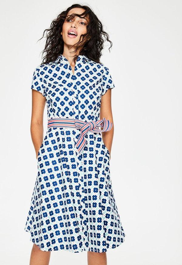 Boden Sophia Shirt Dress (Hey Pretty Fashion Flash 2018: Romantische Sommerkleider)