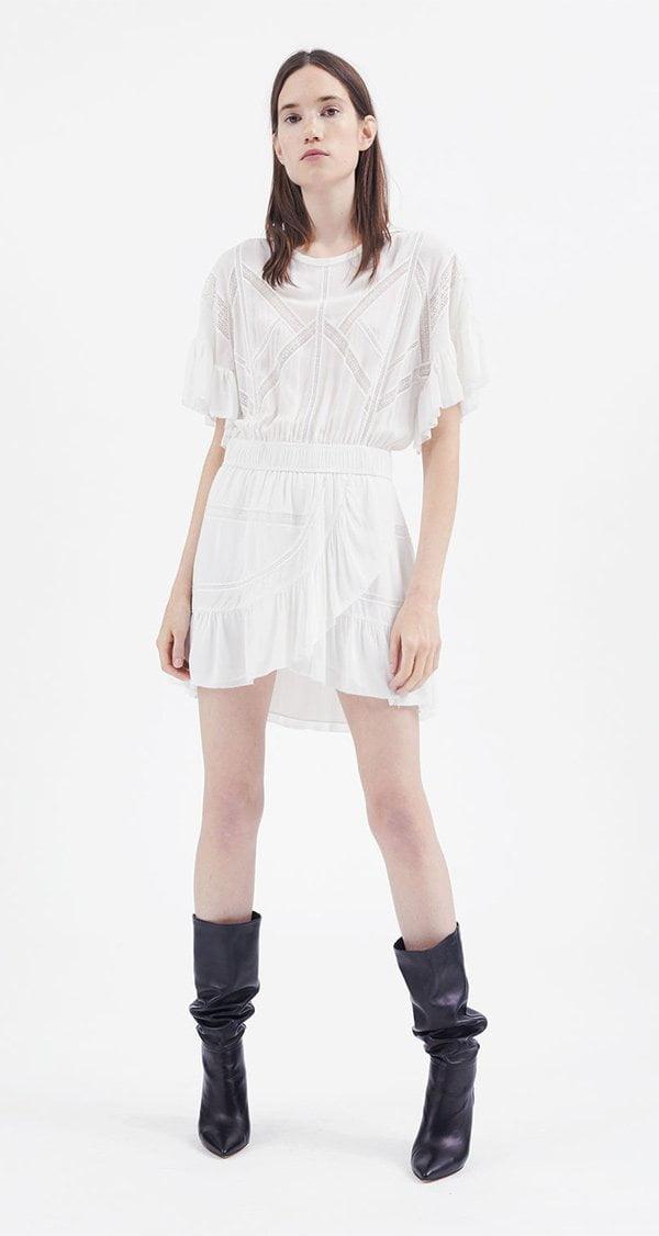 IRO Kimcey Kleid aus Viskose (Hey Pretty Fashion Flash 2018: Romantische Sommerkleider)