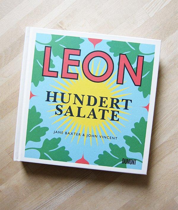 Jane Baxter: Leon – Hundert Salate (Dumont Verlag), Buchcover –Kochbuch Liebe auf Hey Pretty