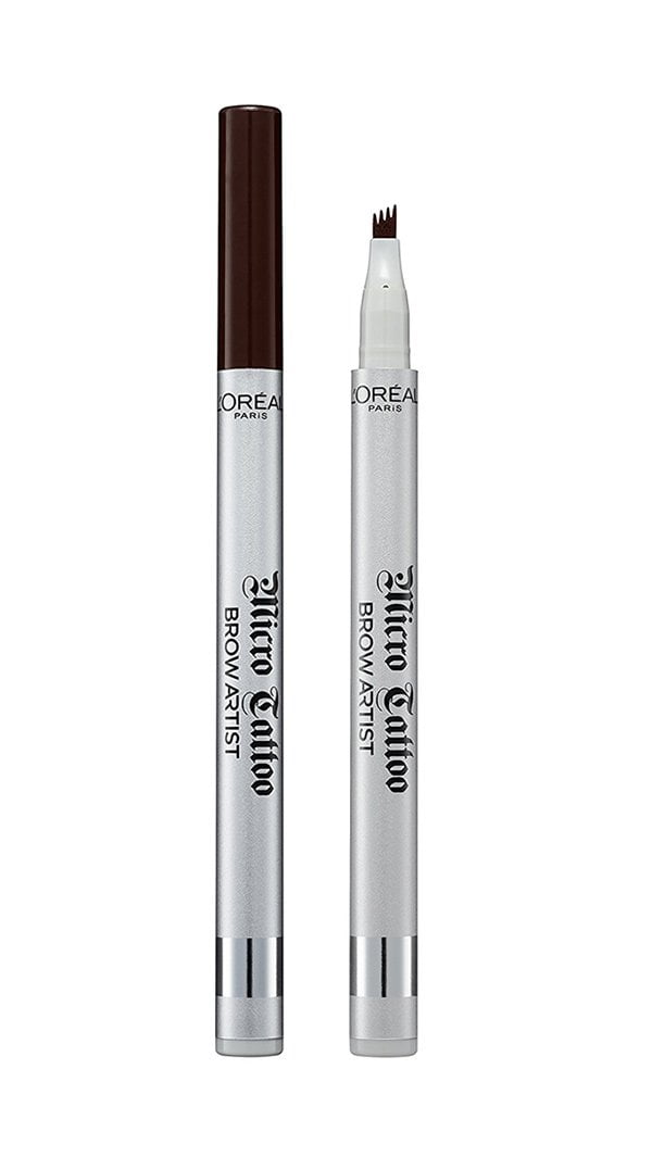 Diese 6 Make-Up-Produkte solltest du besitzen: Augenbrauenstift (L'Oreal Paris Brow Artist Micro Tattoo), Hey Pretty Beauty Blog