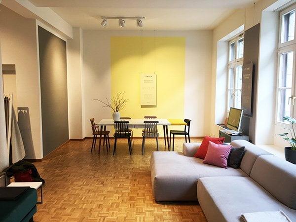 Hey Pretty Wohn-Story: MYCS Möbel (Showroom Zürich) – individualisierbare Möbelstücke