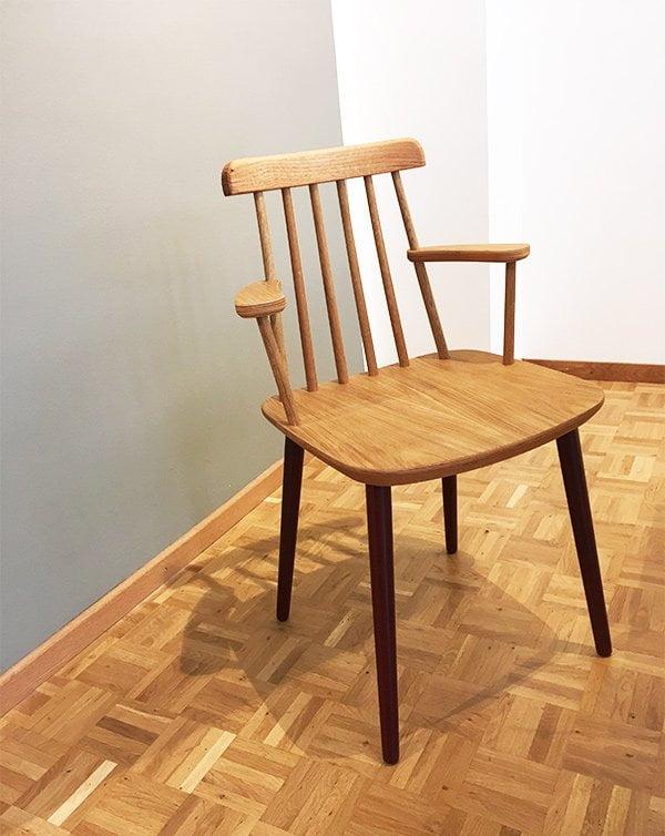 MYCS Möbel: Stuhl STYNG (neu für 2018), im Showroom Zürich
