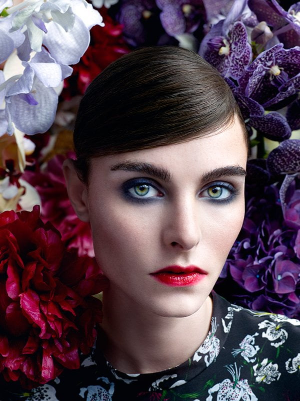 NARS x Erdem Summer Look 2018: Strange Flowers – Model Visual (Credit: NARS)