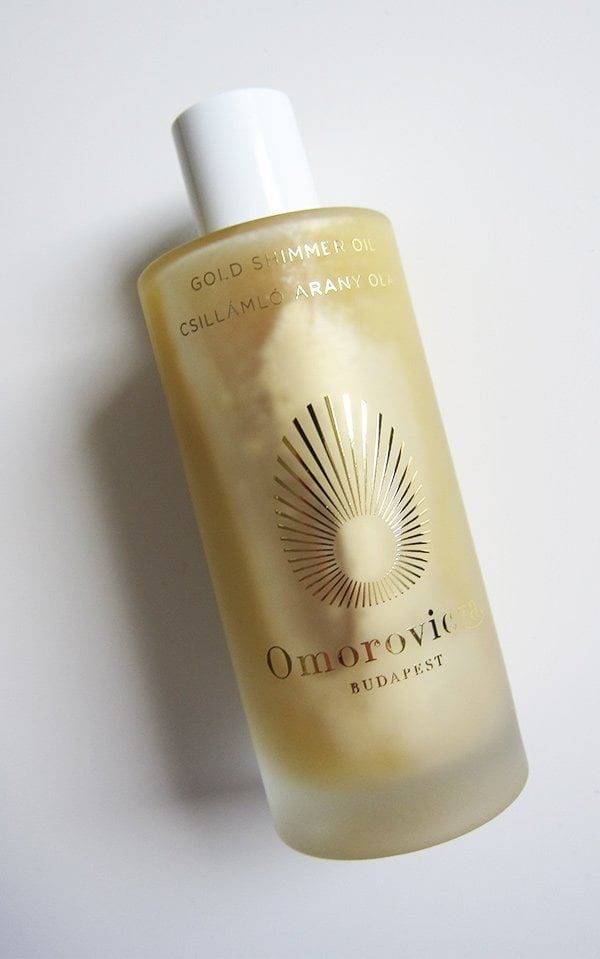Omorovicza Gold Shimmer Oil (Hey Pretty Beauty Blog Review)