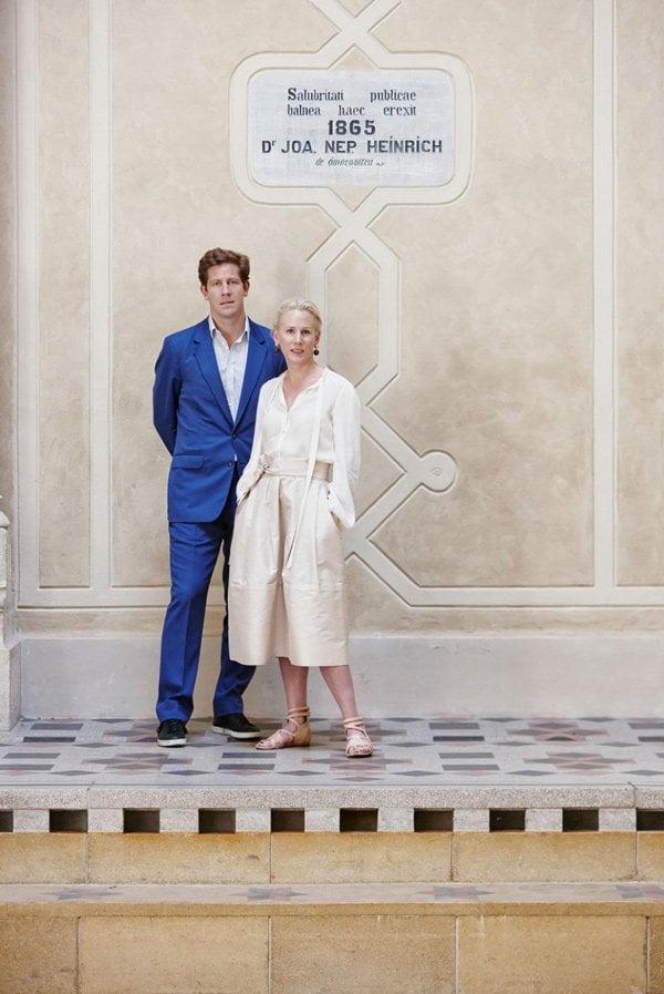 Brand Love: Omorovicza Skincare auf Hey Pretty (Gründer-Ehepaar Stephan und Margaret de Heinrich, PR Image)