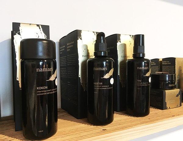 Namari Skin: Naturkosmetik aus der Schweiz im neuen Flagship Store qosms of Namari (Hey Pretty Review)