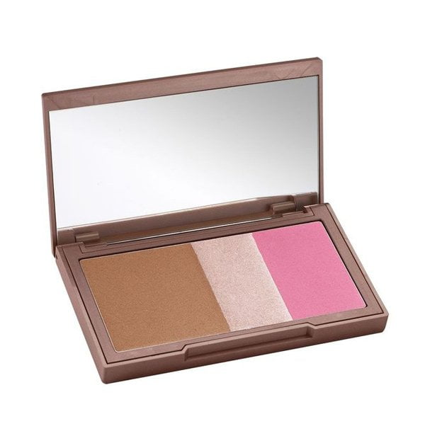 Diese 6 Make-Up-Produkte solltest du besitzen: Highlighter/Bronzer-Palette (Urban Decay Naked Flushed in Going Native), Hey Pretty Beauty Blog
