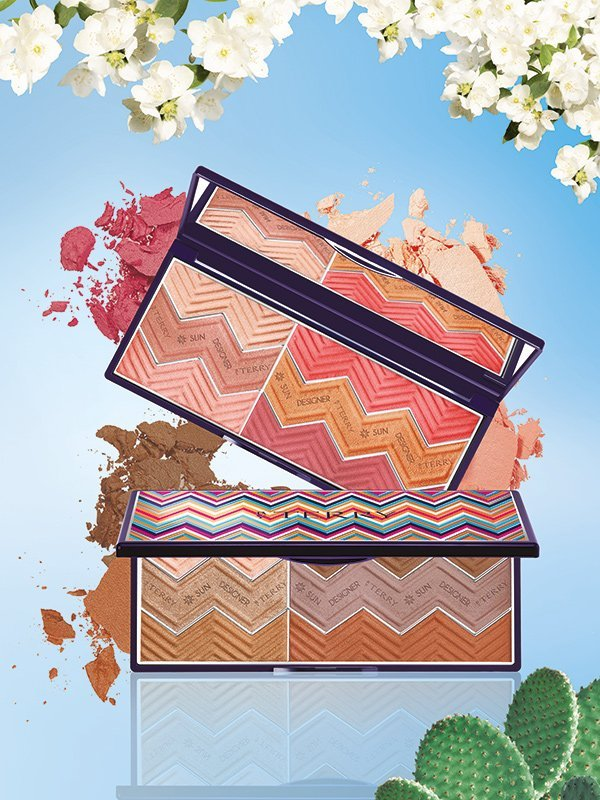 By Terry Hippy Chic Make-Up Collection 2018: Sun Designer Palette (PR Visual)
