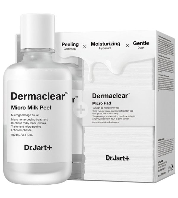 Dr. Jart Dermaclear Micro Milk Peel Review by Hey Pretty Beauty Blog