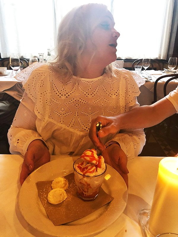 Café Saint Honore Edinburgh: Eton Mess for dessert!