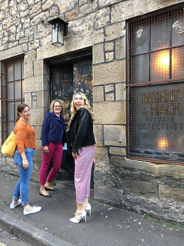 Bryant & Mac Speakeasy Bar in Edinburgh (Hey Pretty Travels)