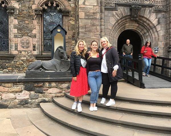Travel with Hey Pretty: Edinburgh Castle