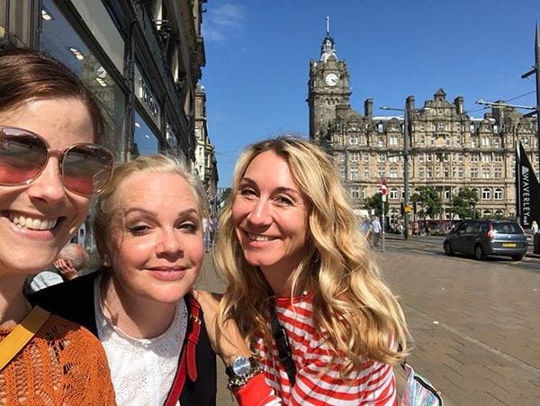 Travel with Hey Pretty: Girls Trip nach Edinburgh