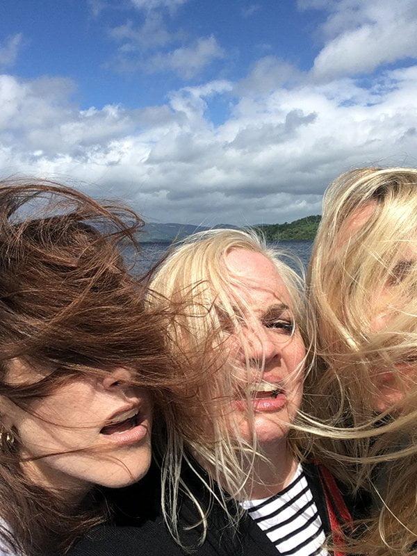 Es windet in Loch Lomond (Hey Pretty Travels)