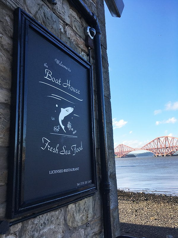The Boat House Queensferry (Restaurant Review auf Hey Pretty)