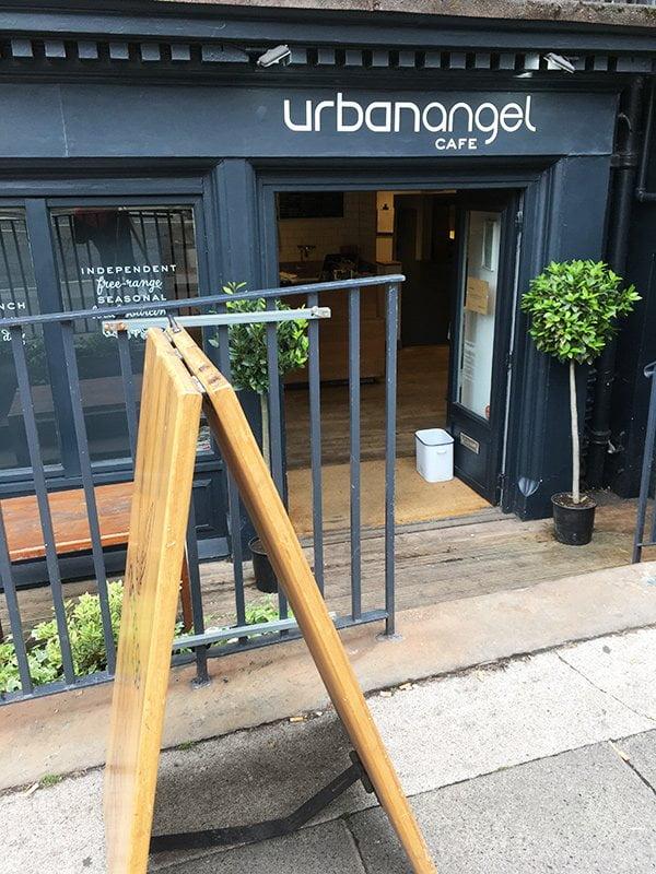 Frühstücken in Edinburgh: Urbanangel Café, New Town (Hey Pretty Beauty Blog)