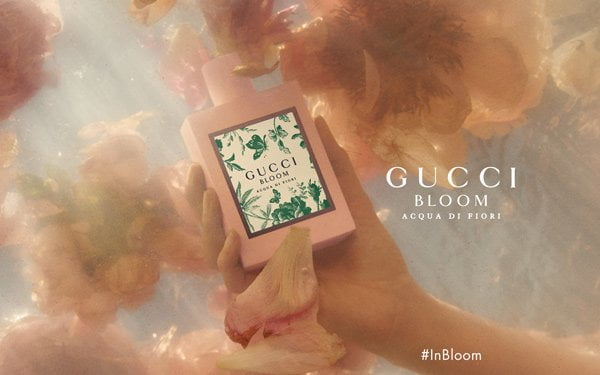 PR Visual zum neuen Gucci Bloom Acqua di Fiori Eau de Toilette (Hey Pretty Beauty Blog Review)