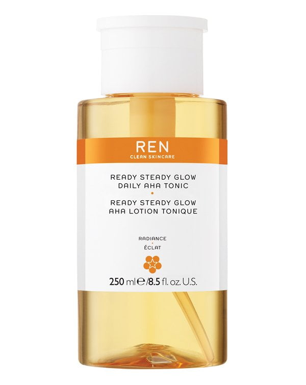 REN Ready Steady Glow Daily AHA Tonic Review by Hey Pretty Beauty Blog