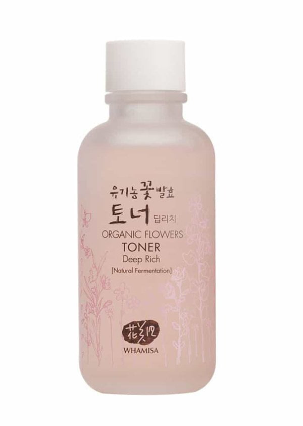 Whamisa Organic Flowers Toner Deep Rich Review by Hey Pretty Beauty Blog